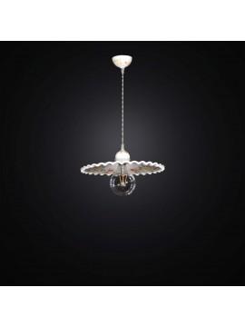 Lampadario a sospensione rustica in ceramica 1 luce BGA 2842/20