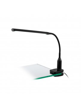 Black modern led study lamp 4,5w GLO 96437 Laroa