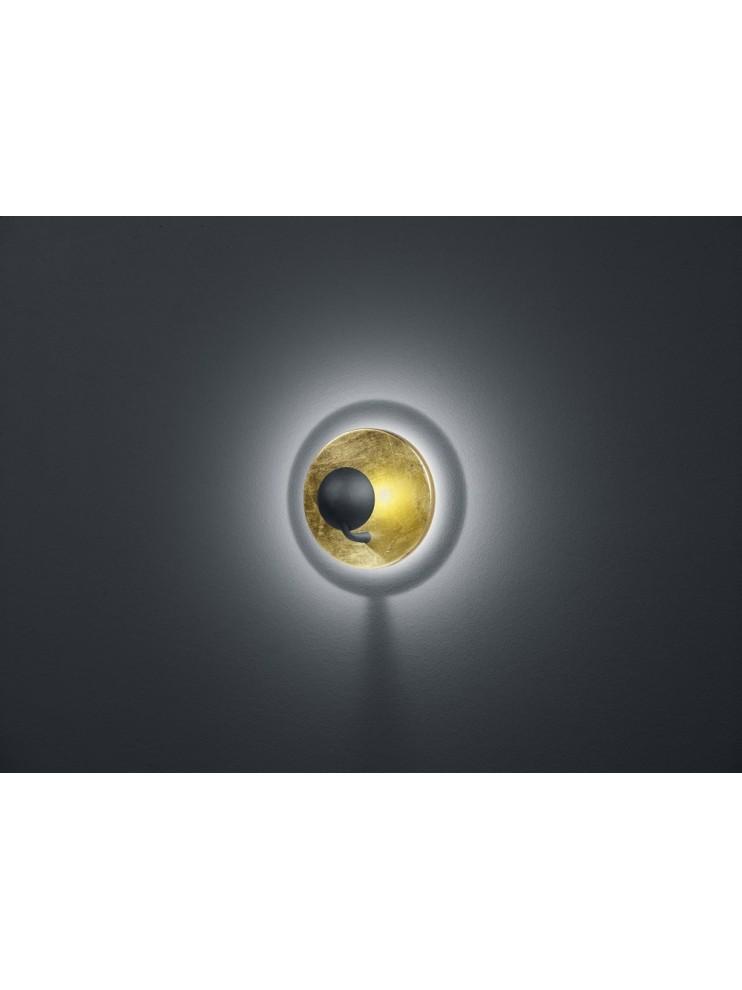 Led applique 6,2w modern gold biemissione trio 223810279 Aurora