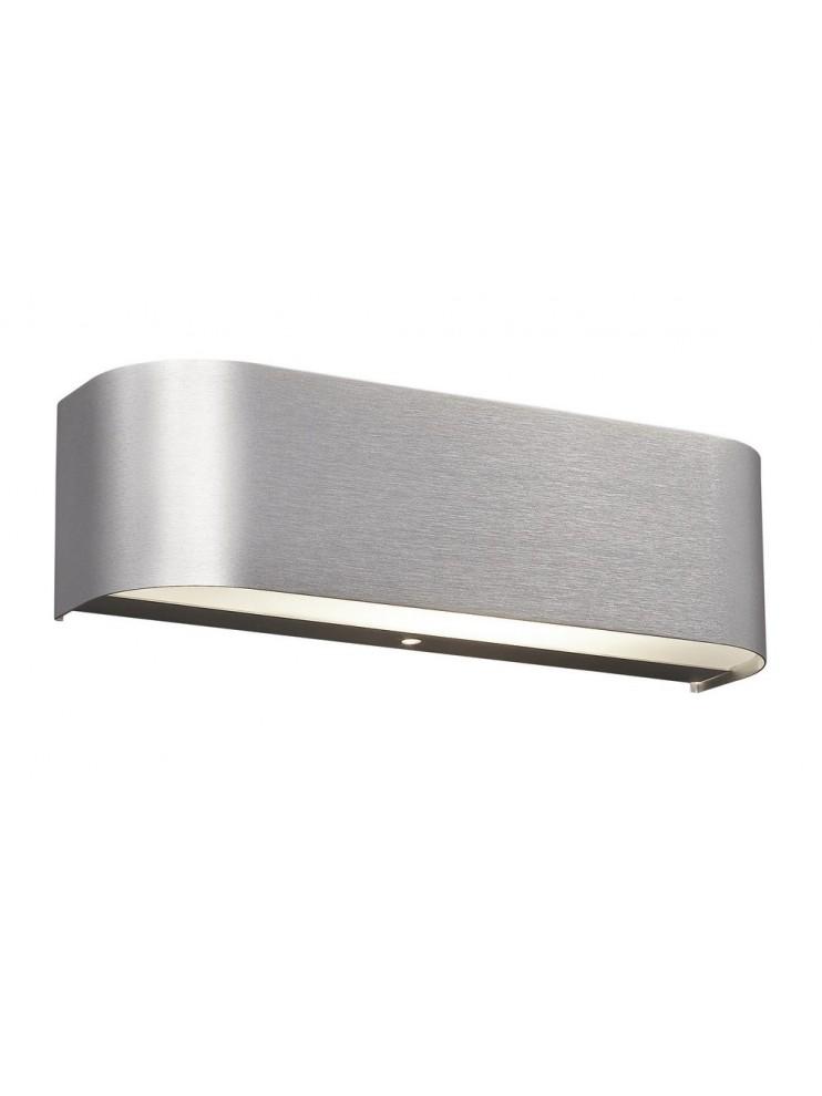 Led applique 6,4w aluminum with modern glass trio 220810205 Adriano
