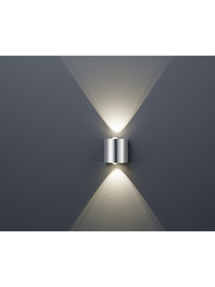 Applique a led 6,4w design  moderno biemissione trio 225510207 Wales
