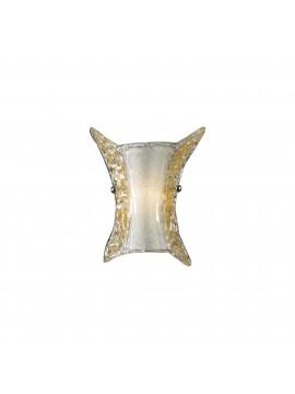 Applique classico in vetro murano 1 luce ape small