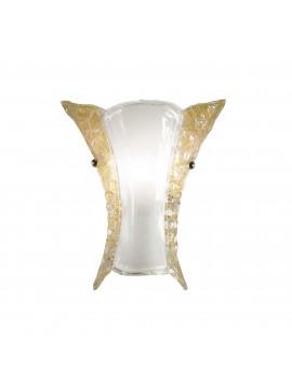 Applique classico in vetro murano 1 luce ape big