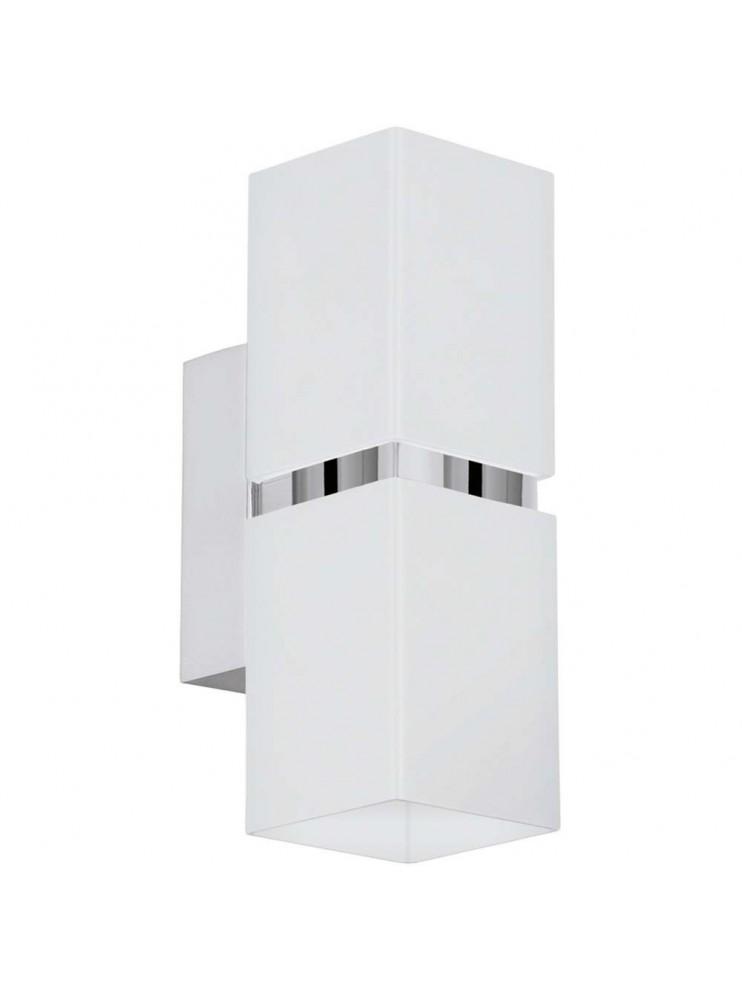 Applique a led 6,6w moderno quadrato GLO 95377 Passa