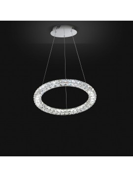 Modern LED chandelier 23w affra 2176 Nora 3 design swarovsky