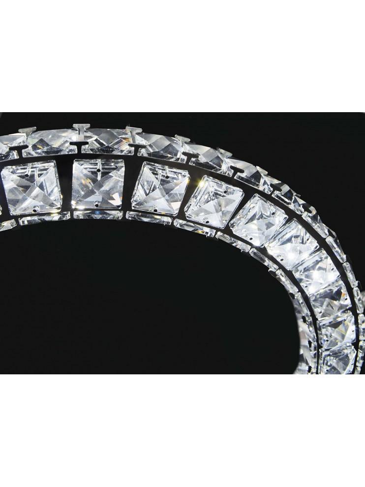 Modern led chandelier 69w affra 2201 Nora 3 design swarovsky