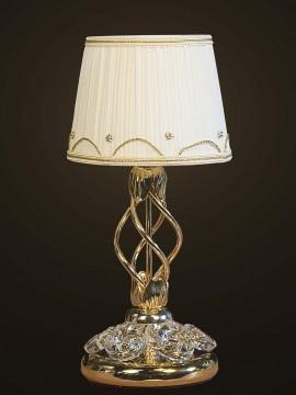 Lumetto cristallo classico oro 1 luce BGA 1671 design swarovsky