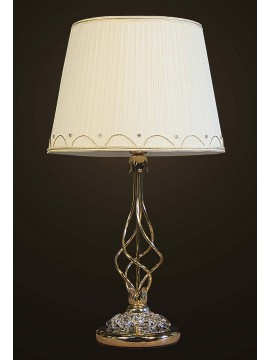 Lume grande cristallo classico oro 1 luce BGA 1671 design swarovsky