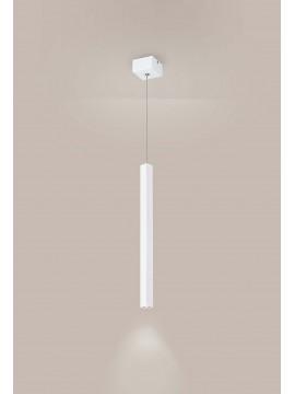 Lampadario a led moderno bianco design affra 2026-L Tubi diodi