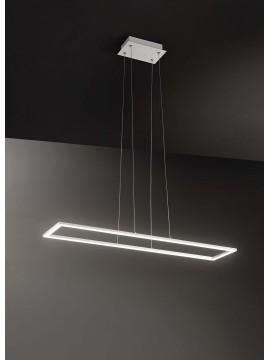 Modern design rectangular led chandelier 80w affra 2343 Quattro