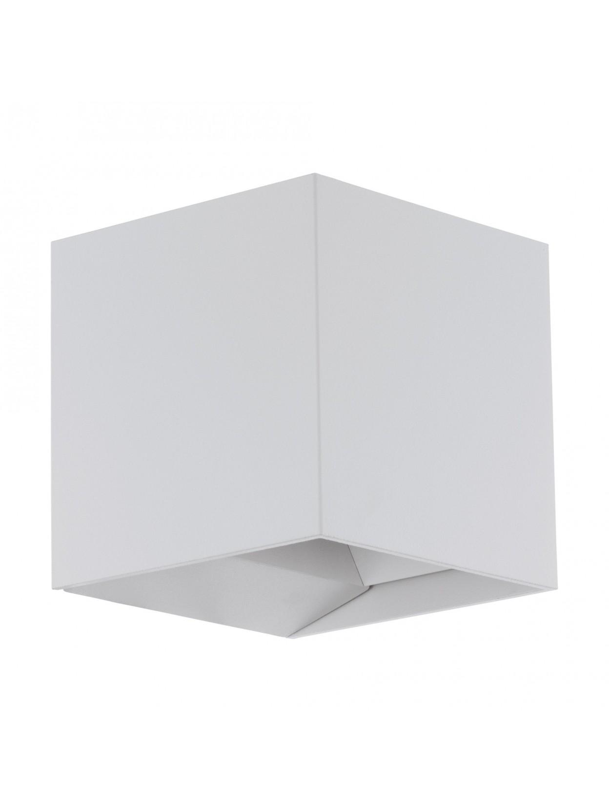 Applique da esterno a led moderno bianco glo 97241 calpino - Applique led esterno ...