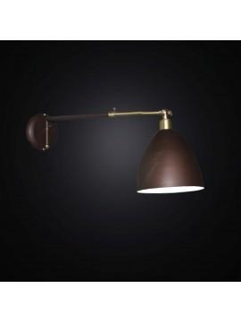 Applique classico snodabile allungabile 1 luce BGA 2906/A1