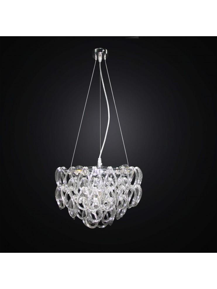 Contemporary Crystal Chandelier 6 Lights Bga 2908 6