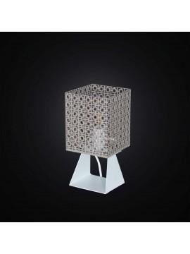 Lumetto moderno design tortora e bianco 1 luce BGA 2894/LP