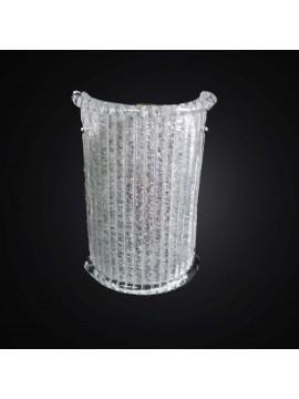 Applique classico in vetro murano granigliato 1 luce BGA 2779/A