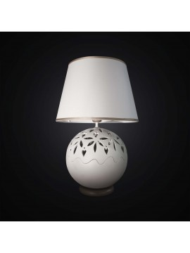Modern large lamp in dove gray ceramic 2 lights BGA 2934 / LG