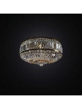 Plafoniera classica cristallo oro 6 luci BGA 2935/PL50 design swarovsky