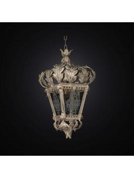 Lampadario classico in ferro battuto avorio 1 luce BGA 2936/L