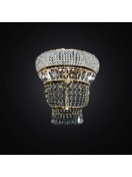 Applique classic crystal gold 3 lights BGA 2937 / A3 design swarovsky