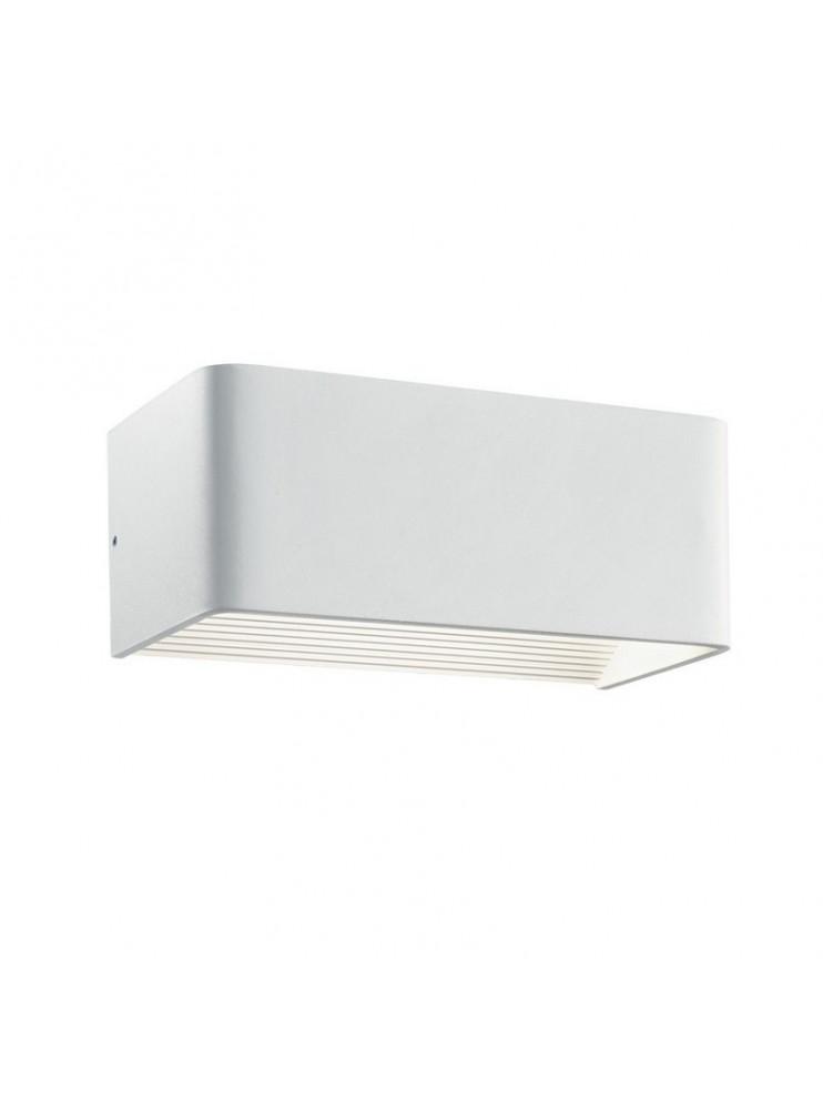 LED wall light 12w modern reflective white Click big