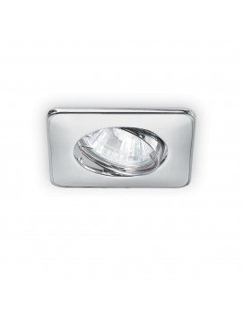 Modern 1 light square recessed spotlight Lounge chrome