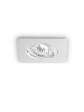 Faretto da incasso moderno quadrato a 1 luce Lounge bianco