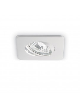Recessed modern square light 1 light Lounge white