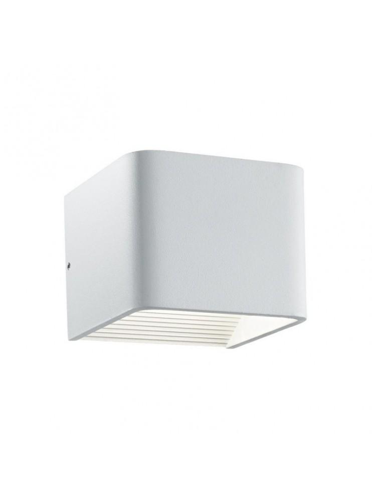 Applique a led 6w moderno riflettente bianco Click
