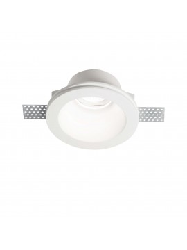 Contemporary plaster recessed spotlight 1 light Samba round fl1 big