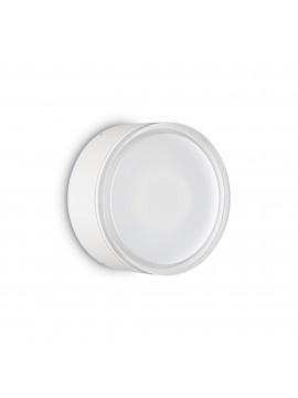 Plafoniera moderna design da esterno 1 luce Urano pl1 big bianco