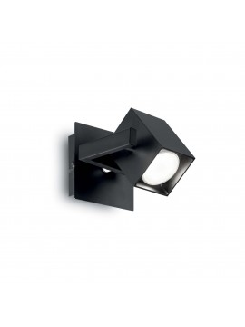 Wall lamp with modern spotlight Mouse ap1 black