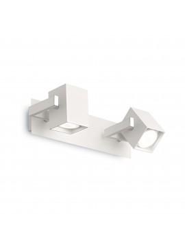 Applique con faretti spot moderno Mouse ap2 bianco