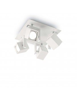 Ceiling lamp with spotlights modern spot Mouse white pl4