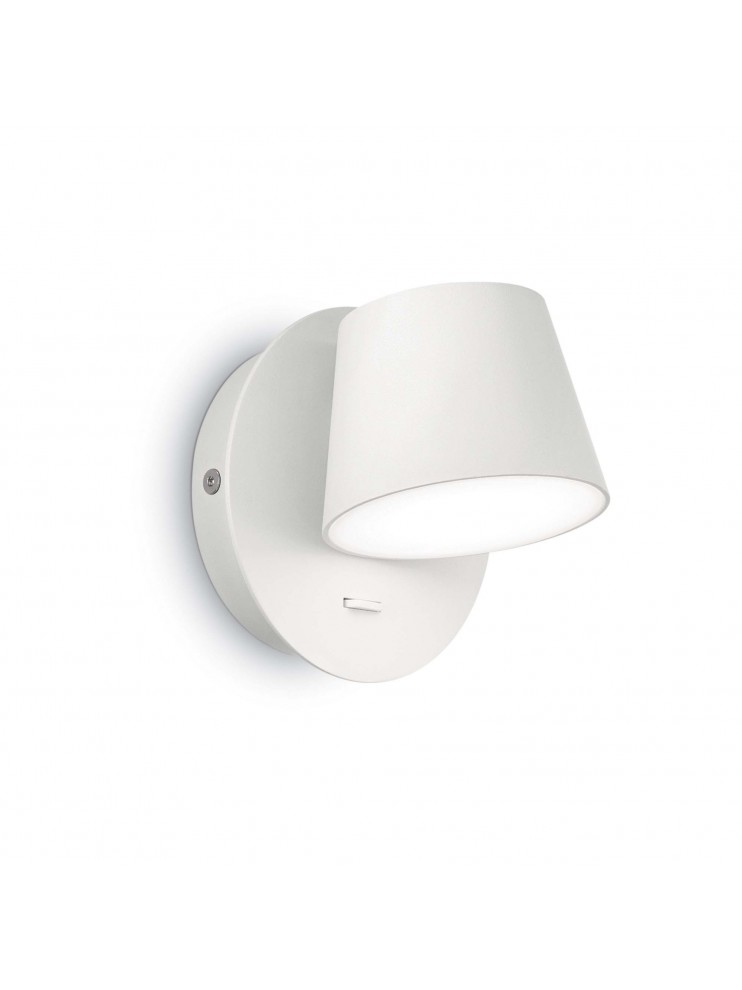 Applique a led design moderno 6w Gim ap1 bianco
