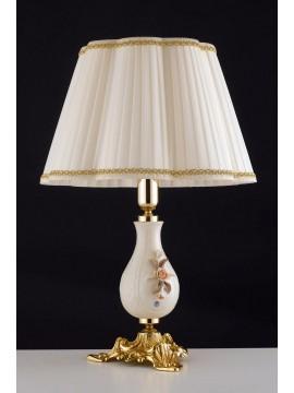 Lume grande classico in ottone e capodimonte 1 luce LGT Lisbona lg