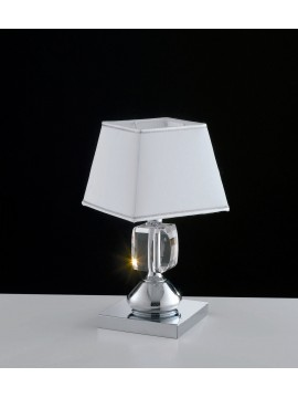 Contemporary table lamp with crystals 1 light LGT Preziosa lp