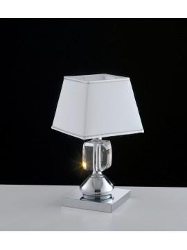 Lumetto contemporaneo con cristalli 1 luce LGT Preziosa lp