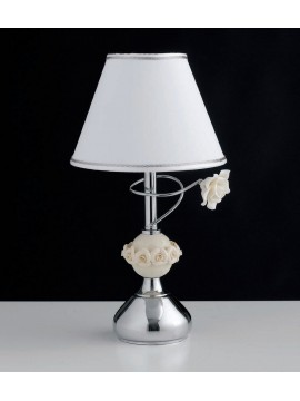 Contemporary table lamp with 1 light ceramics LGT Coronet lp