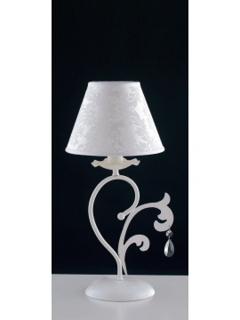 Contemporary table lamp in wrought iron 1 light LGT Eleonora 02 lp