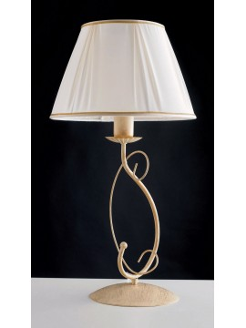Contemporary table lamp in wrought iron 1 light LGT Elisabetta lg