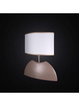 Lumetto moderno in ceramica tortora ovale a 1 luce BGA 2992-lp