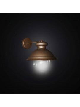Applique per esterno classico ruggine a 1 luce BGA 2993-a22