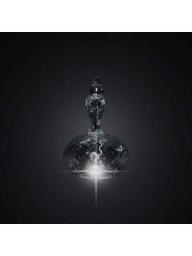 Lampadario ingresso in vetro balloton cristallo 1 luce BGA 2994-s