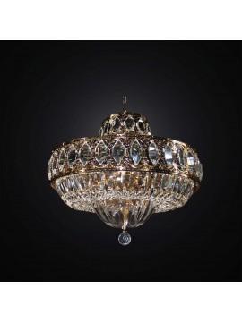 Gold and crystal classic ceiling light 8 lights BGA 2995-pl52 swarovsky design