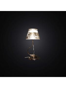 Lumetto classico cristallo oro 1 luce BGA 2999-lp design swarovsky