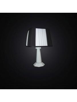 Modern black and white wooden table lamp 1 light BGA 3001-lp