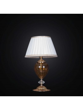 Classic table lamp in brass and crystal 1 light BGA 2346-lp swarovsky design