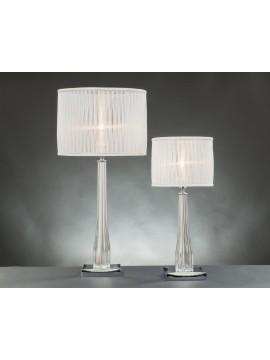 Lume grande in cristallo moderno 1 luce Design Swarovsky santorini