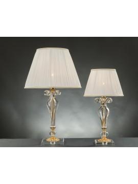 Lumetto classico in cristallo 1 luce Design Swarovsky Zacinto