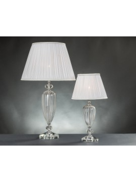 Lume grande moderno in cristallo 1 luce Design Swarovsky Cleopatra